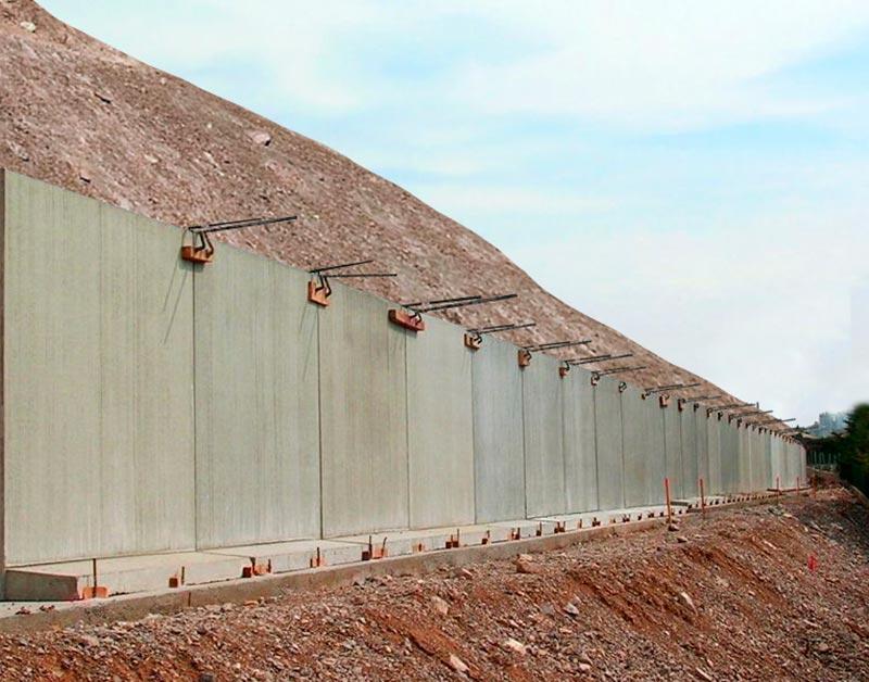 Proyectos de muros de contención: Ingeniería constructiva