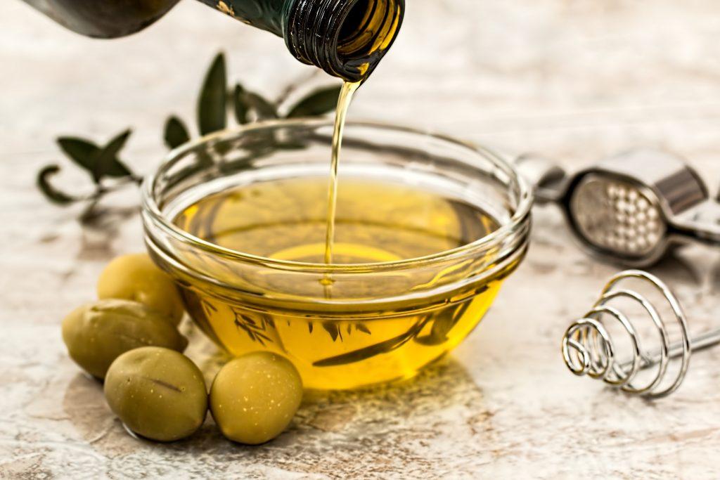 extracción CBD con aceite de oliva